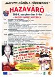 HAZAVÁRÓ - 2014.09.06.